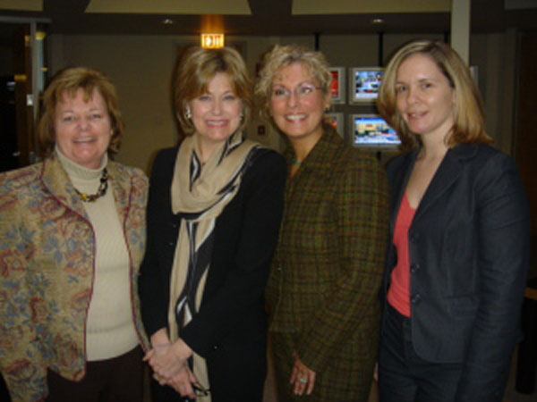 Gayle Nowak with Jane Pauley
