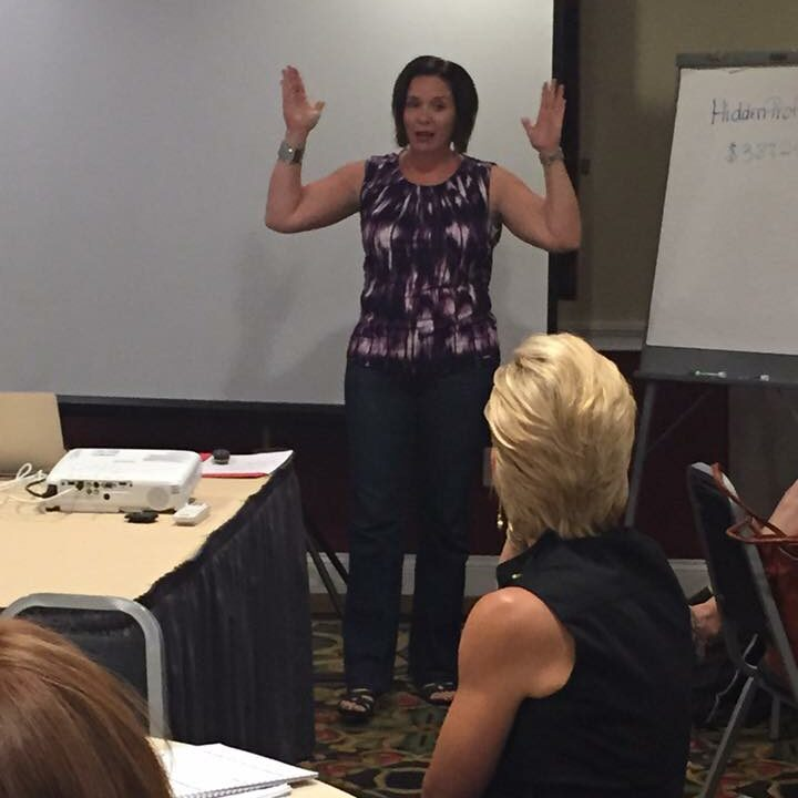 Gayle Nowak helps boost her clients' bottom line at the Hidden Profits Workshop
